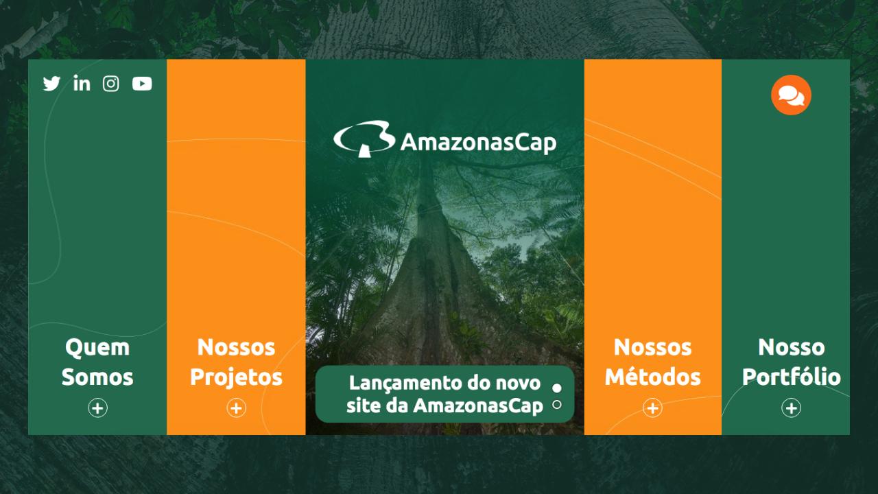 Lançamento do novo site da AmazonasCap