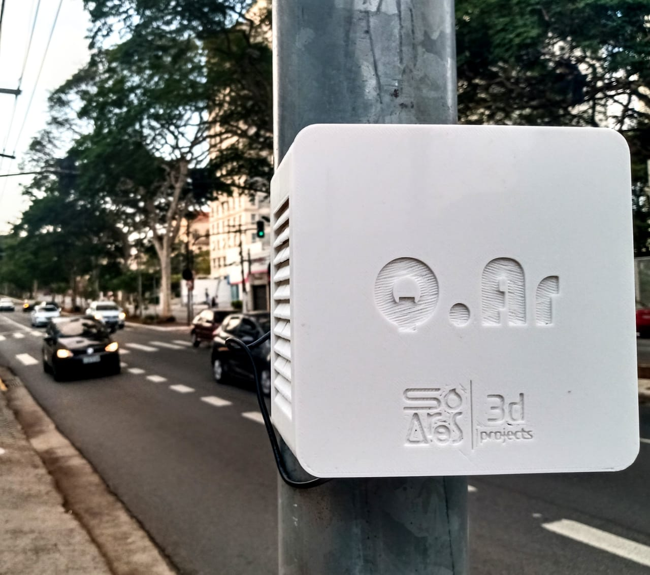 Acelerada lança Índice de qualidade do ar!