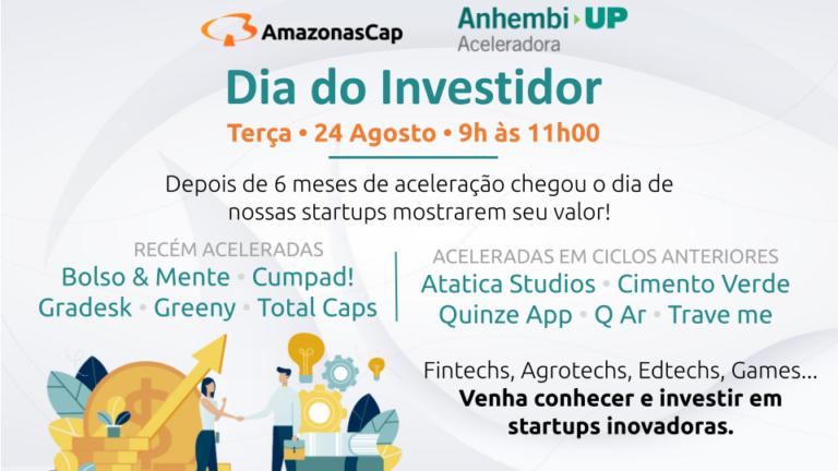AmazonasCap realiza o VI Dia do Investidor da Anhembi UP