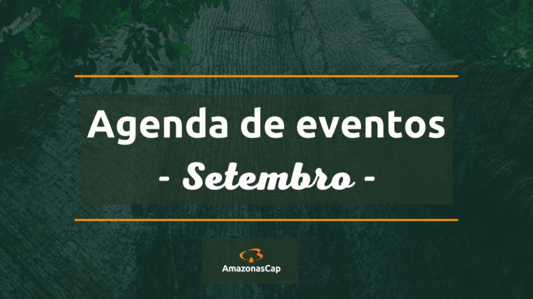 Eventos AmazonasCap no mês de Setembro/21